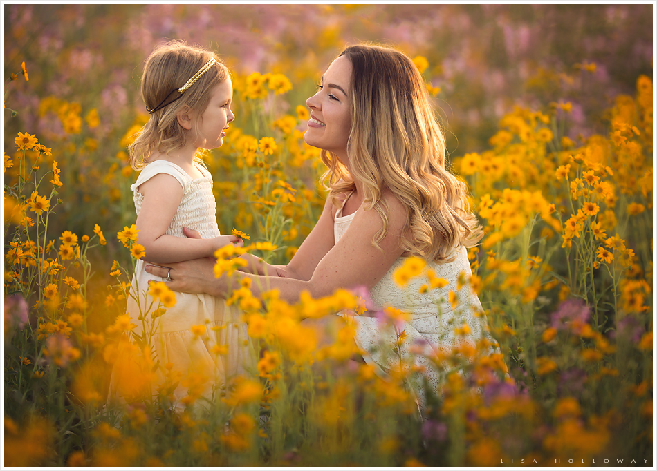 Family photo session in wildflowers in arizona ljholloway photography is a las vegas family photographer