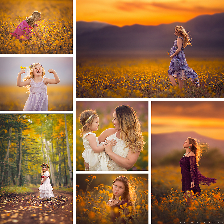 This collage is a collection of LJHolloway Photography, a Las Vegas Family Photographer's favorite images of 2016. Images include portraits of maternity, newborn, child, and family clients.
